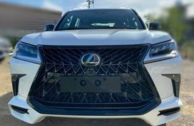 Brand new 2021 Lexus LX450D KURO Black Edition