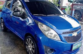 Blue Chevrolet Spark 2012 for sale in Pasay City