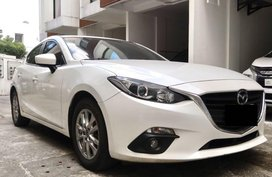 Sell Pearl White 2016 Mazda 3 in Quezon City