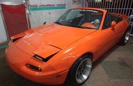 Selling Orange Mazda Mx-5 2003 in Manila
