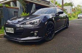 Selling Blue Subaru Brz 2015 in Quezon City