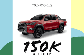 150 K ALL-IN DOWNPAYMENT! HILUX 2020