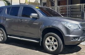 2014 Chevrolet Trailblazer, 6-speed AT, Casa-maintained, Grey, Quezon City