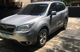 Sell Silver 2015 Subaru Forester in Pasig City