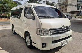 Sell Pearlwhite Toyota Hiace Super Grandia 2014 in Pasig