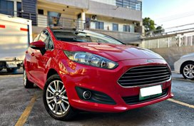 Ford Fiesta 2014 Red 1.5L Automatic