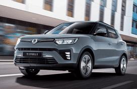 Gasoline SsangYong Tivoli returns, priced below Php 1 million