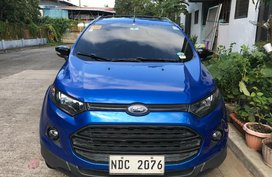 Selling Blue Ford Ecosport 2017 in Quezon City