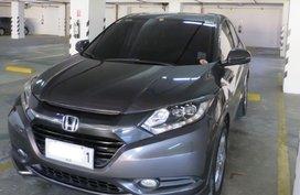 Grey Honda Hr-V 2015 for sale in Bonifacio