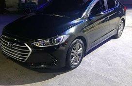 Sell Black 2016 Hyundai Elantra in Quezon City