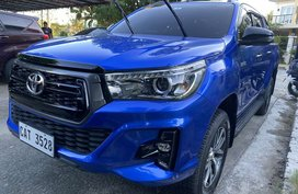 2020 Hilux 2.4 4x2 Conquest Automatic Nebula Blue