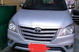 Selling our Toyota Innova 2014E Diesel MT