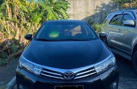 2016 Black Toyota Corolla Altis 1.6 G Automatic Gasoline