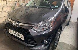 Toyota 2019 Wigo 1.0 G Automatic Gray 2019 Auto