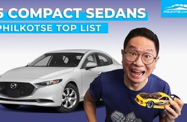 5 compact sedans you can buy in the Philippines