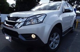 Selling White Isuzu Mu-X 2016 SUV in Manila