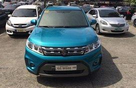 Blue Suzuki Vitara 2017 for sale in Mandaluyong