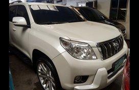 Sell White 2013 Toyota Land Cruiser Prado in Manila