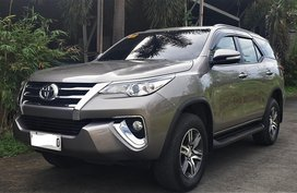2017 Toyota Fortuner G AT 14TKM