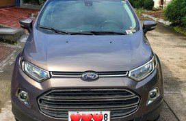 Grey Ford EcoSport Titanium 2015 Top of the line