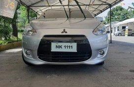 Sell Silver 2015 Mitsubishi Mirage in Pasig City