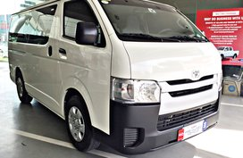 2020 Toyota Hiace Commuter DSL MT