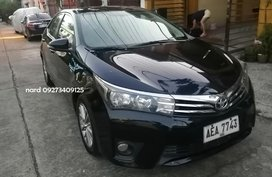 Black Toyota Altis 2015 for sale in Manila