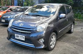 Grey Toyota Wigo 2016 for sale in Manila