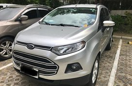 Silver Ford Ecosport 2017 for sale in Parañaque
