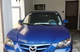 Blue Mazda 3 2010 for sale in Quezon City