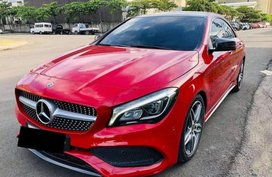 Red Mercedes-Benz C200 2018 for sale in Quezon City
