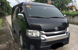 Selling Black Toyota Hiace 2015 in Bulacan