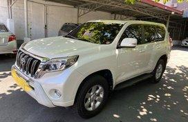 White Toyota Land Cruiser Prado 2014 for sale in Las Piñas