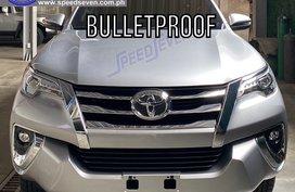 Brand New 2020 Toyota Fortuner V Bulletproof Level 6 4x4 Armored Bullet Proof (Silver)