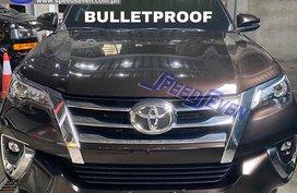 Brand New 2020 Toyota Fortuner V Bulletproof Level 6 4x4 Armored Bullet Proof (Black-Phantom Brown)