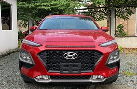 Sell Red 2019 Hyundai Kona in Quezon City