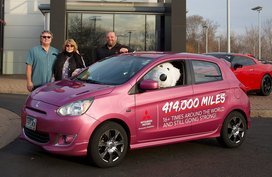 How far can your Mitsubishi Mirage go? This one racked up over 660,000 km