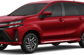 Toyota Avanza Dark Red Mica Metallic