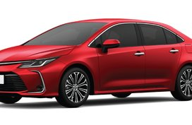 toyora corolla altis Red Mica Metallic