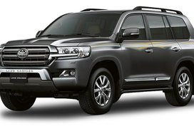 Toyota Land Cruiser Gray Metallic