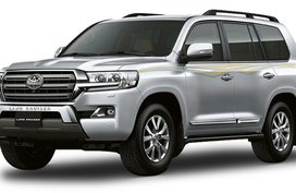 Toyota Land Cruiser Silver Metallic