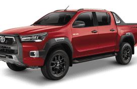 Toyota Hilux Crimson Red