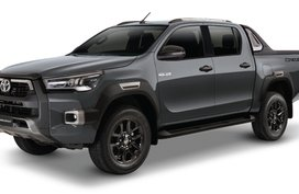 Toyota Hilux Gray Metallic