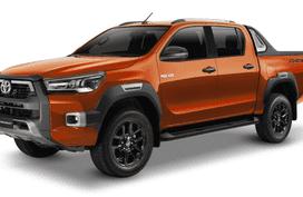 Toyota Hilux Orange Metallic