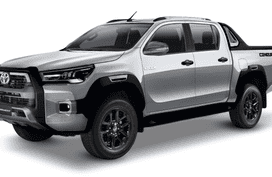 Toyota Hilux Silver Metallic