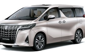 Toyota Alphard Steel Blonde Metallic