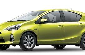 Toyota Prius C Yellow Mica Metallic