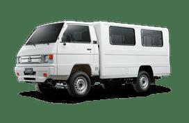 Mitsubishi L300 white