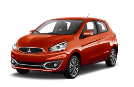 Mitsubishi Mirage Majestic Red