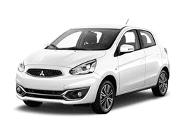 Mitsubishi Mirage Savanna White